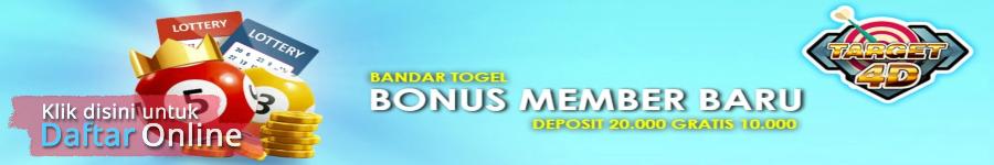 bandar togel bonus member baru terbesar target4d