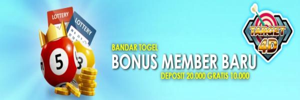 promo bonus member baru target4d